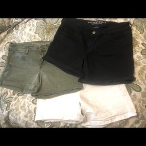 Lot of 3 American Eagle size 16 shorts